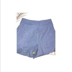 Zara Shorts - Blue Shorts